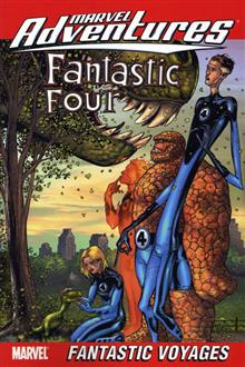 MARVEL ADVENTURES FANTASTIC FOUR VOL 2 TP DIGEST