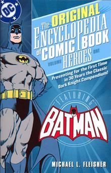 ENCYCLOPEDIA OF COMICBOOK HEROES VOL 1 BATMAN TP