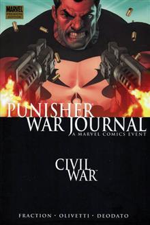 PUNISHER WAR JOURNAL VOL 1 CIVIL WAR PREMIERE HC