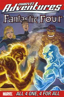 MARVEL ADVENTURES FANTASTIC FOUR VOL 5 ALL 4 ONE 4 FOR ALL TP DIGEST