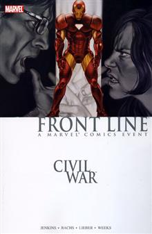 CIVIL WAR FRONT LINE TP BOOK 02