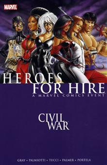 HEROES FOR HIRE VOL 1 CIVIL WAR TP