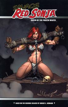 SAVAGE RED SONJA QUEEN O/T FROZEN WASTES TP PX CVR
