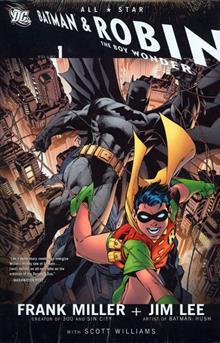 ALL STAR BATMAN AND ROBIN THE BOY WONDER VOL 1 HC