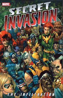 SECRET INVASION INFILTRATION TP