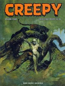CREEPY ARCHIVES VOL 4 HC