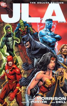 JLA DELUXE EDITION VOL 2 HC