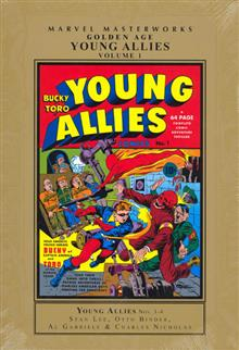 MMW GOLDEN AGE YOUNG ALLIES HC VOL 01