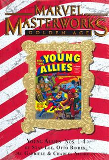 MMW GOLDEN AGE YOUNG ALLIES HC VOL 01 VAR ED 121
