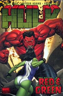 HULK VOL 2 RED & GREEN PREM HC CHO CVR DM ED