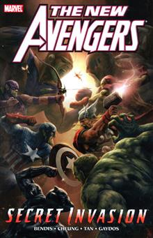 NEW AVENGERS VOL 9 SECRET INVASION BOOK 2 TP DM ED