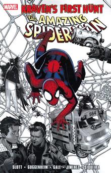 SPIDER-MAN KRAVENS FIRST HUNT TP