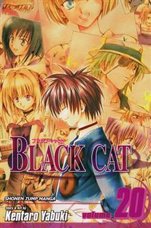 BLACK CAT VOL 20 TP