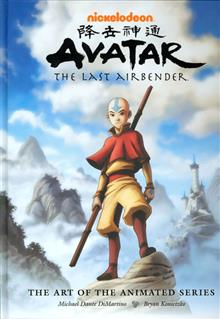 AVATAR-LAST-AIRBENDER-ART-ANIMATED-SERIES-HC-(C-0-1-2)