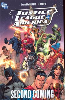 JUSTICE LEAGUE OF AMERICA SECOND COMING TP