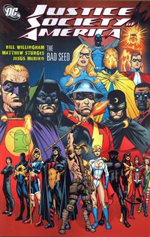 JUSTICE SOCIETY OF AMERICA BAD SEED TP