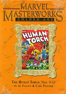 MMW GOLDEN AGE HUMAN TORCH HC VOL 03 DM ED 142 *Spine has some fading caused by light*