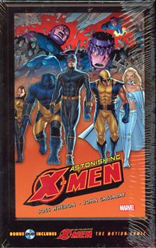 ASTONISHING X-MEN GIFTED GN HC W/MOTION COMIC DVD