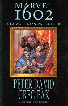MARVEL 1602 NEW WORLD FANTASTICK FOUR TP