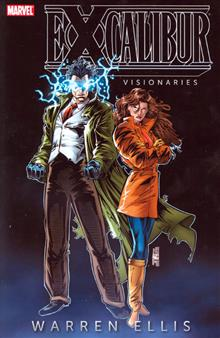 EXCALIBUR VISIONARIES WARREN ELLIS TP VOL 01