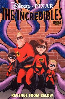 INCREDIBLES TP VOL 03 REVENGE FROM BELOW (C: 1-0-0