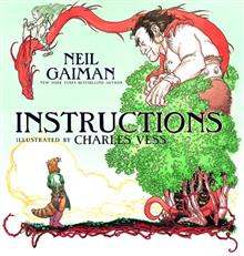 NEIL GAIMAN INSTRUCTIONS HC