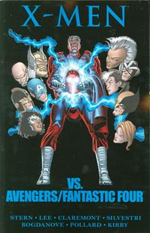 X-MEN VS AVENGERS AND FANTASTIC FOUR TP
