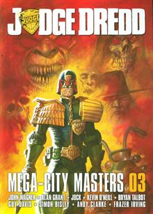 JUDGE DREDD MEGACITY MASTERS SC VOL 03