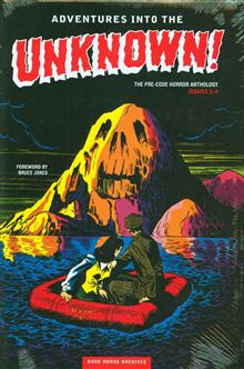 ADVENTURES INTO THE UNKNOWN ARCHIVES HC VOL 01