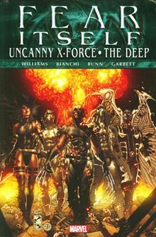 FEAR ITSELF UNCANNY X-FORCE DEEP PREM HC