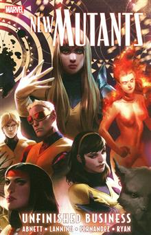 NEW MUTANTS TP UNFINISHED BUSINESS VOL 04