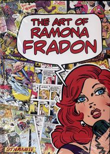ART OF RAMONA FRADON HC SIGNED ED