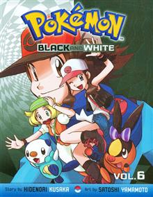 POKEMON BLACK & WHITE GN VOL 06