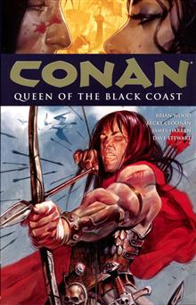 CONAN TP VOL 13 QUEEN O/T BLACK COAST