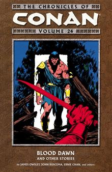 CHRONICLES OF CONAN TP VOL 24 BLOOD DAWN & OTHER S