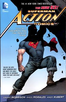 SUPERMAN ACTION TP VOL 01 SUPERMAN MEN OF STEEL (N52)
