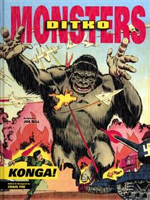STEVE DITKO MONSTERS HC VOL 02 KONGA