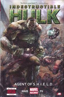 INDESTRUCTIBLE HULK PREM HC VOL 01 AGENT OF SHIELD