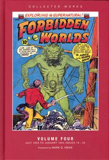 ACG COLL WORKS FORBIDDEN WORLDS HC VOL 04