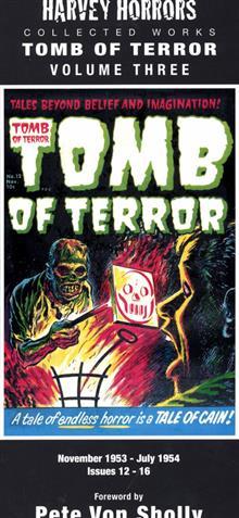 HARVEY HORRORS COLL WORKS TOMB OF TERROR HC VOL 03