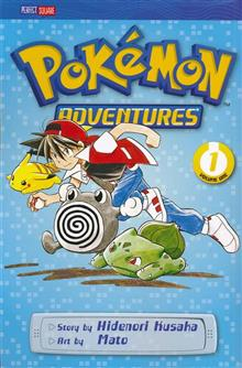 POKEMON ADVENTURES GN VOL 01 RED BLUE (CURR PTG)