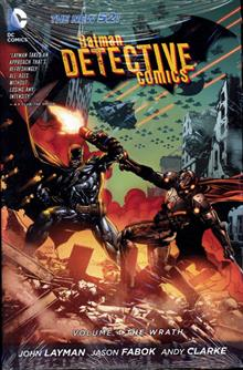 BATMAN DETECTIVE COMICS HC VOL 04 THE WRATH (N52)