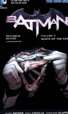 BATMAN TP VOL 03 DEATH OF THE FAMILY (N52)