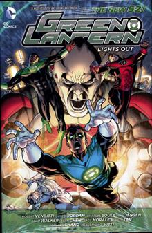 GREEN LANTERN LIGHTS OUT HC (N52)