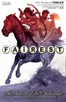 FAIREST TP VOL 03 RETURN OF THE MAHARAJA (MR)