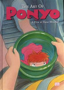 ART OF PONYO ON THE CLIFF HC