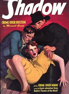 SHADOW DOUBLE NOVEL VOL 83 CRIME OVER BOSTON