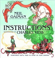 NEIL GAIMAN INSTRUCTIONS POB HC