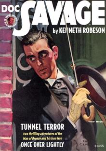 DOC SAVAGE DOUBLE NOVEL VOL 81 TUNNEL TERROR