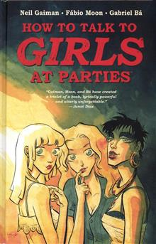 NEIL GAIMANS HOW TO TALK TO GIRLS AT PARTIES HC